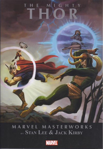 Cover for Marvel Masterworks: The Mighty Thor (Marvel, 2010 series) #2