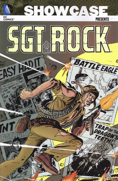 Cover for Showcase Presents: Sgt. Rock (DC, 2007 series) #4