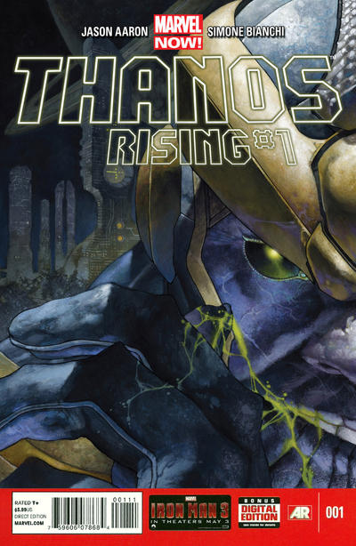 Cover for Thanos Rising (Marvel, 2013 series) #1