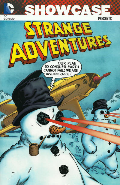 Cover for Showcase Presents Strange Adventures (DC, 2008 series) #2