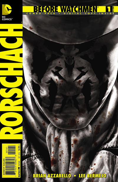 Cover for Before Watchmen: Rorschach (DC, 2012 series) #1
