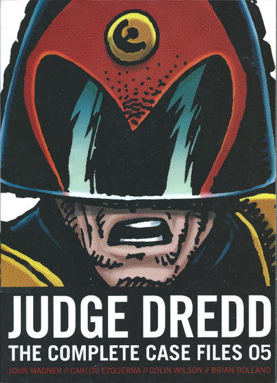 Cover for Judge Dredd The Complete Case Files (Rebellion, 2005 series) #5 [US Edition]