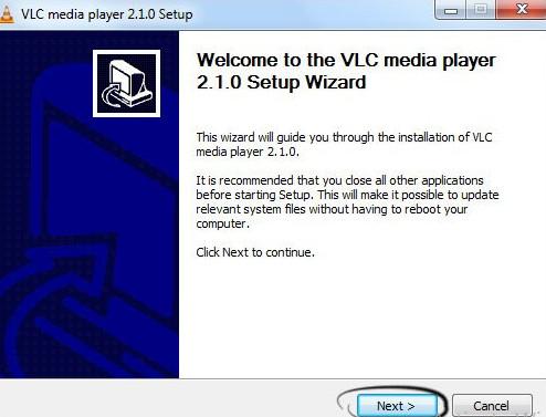 برنامج تشغيل الافلام والصوتيات مجانا VLC Media Player :