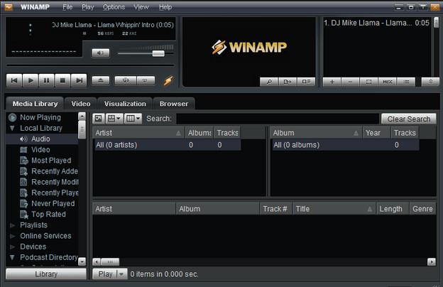 تنزيل برنامج وين امب مجانا Free Winamp