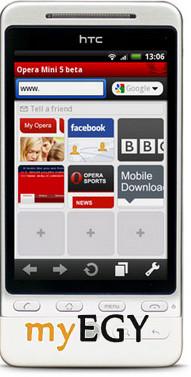 تحميل برنامج اوبرا ميني للجوال opera mini 4.2 عربي