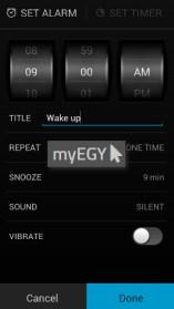 تحميل تطبيق المنبه للاندرويد alarm clock مجانا 3