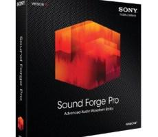 تحميل برنامج Sound Forge Pro 11 برابط مباشر للكمبيوتر