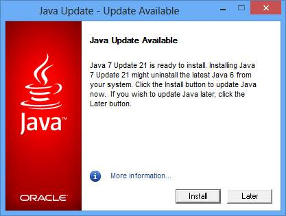 Top Five Download Java 7 Update 45 For Windows 7 64 Bit - Circus