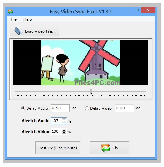 Easy Video Sync Fixer Free Download for Windows