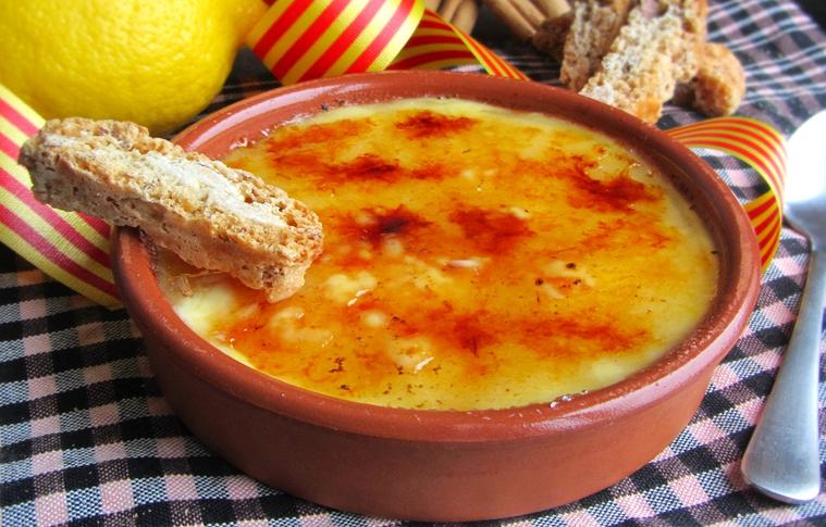 La crema catalana és el postre més icònic de la nostra gastronomia