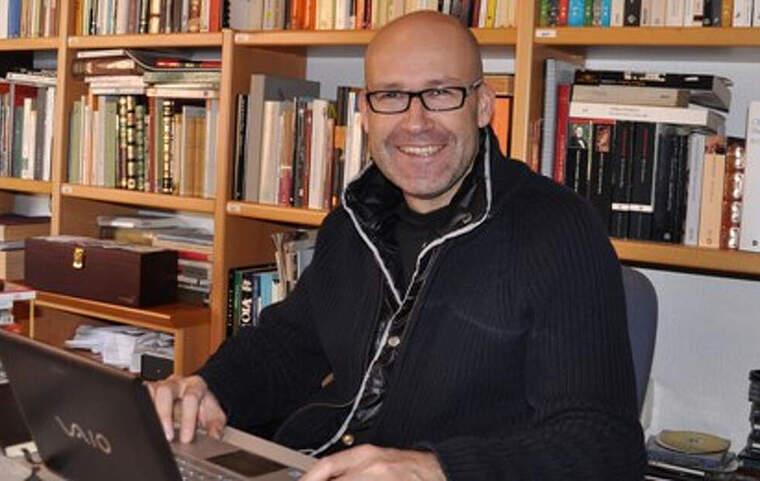 Genís Sinca és l'autor de la biografia sobre Ramon Fuster i Rabés