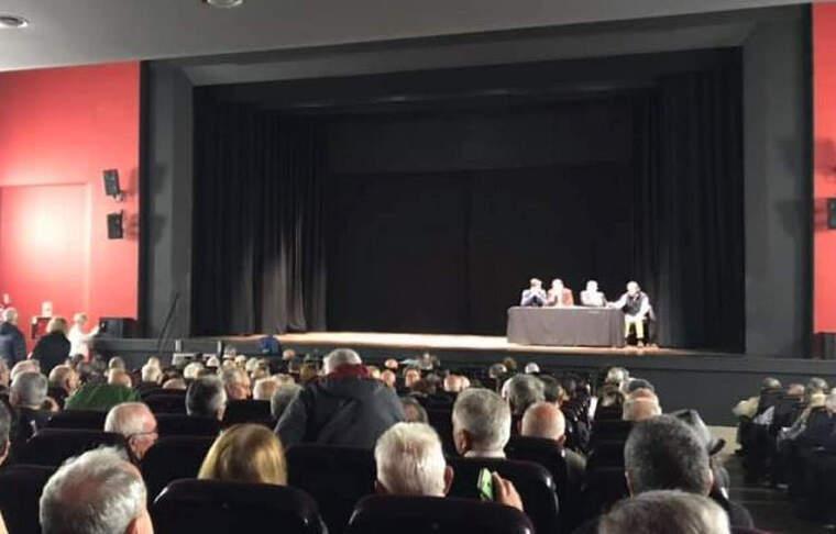 La xerrada sobre el Tribut Metropolità es va fer al Teatre Ateneu de Cerdanyola