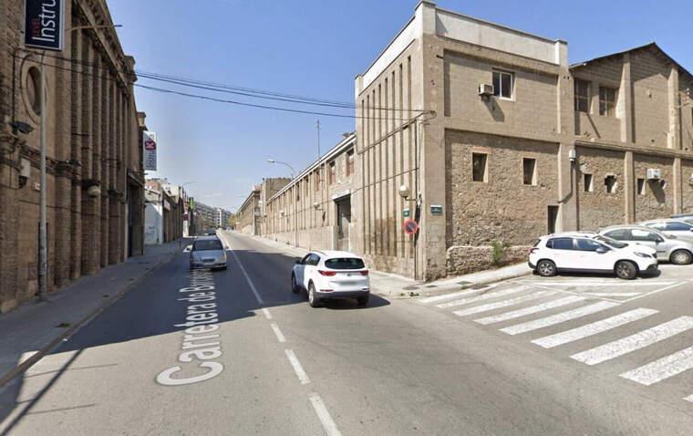 L'accident va ser a la carretera de Barcelona (N-150) al seu pas per Cerdanyola