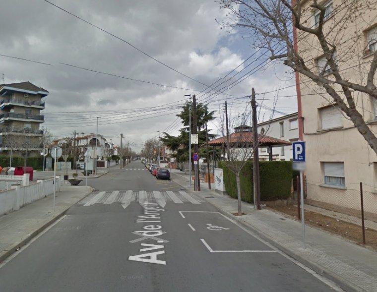 Un tram de l'avinguda d'Argentina de Cerdanyola del Vallès