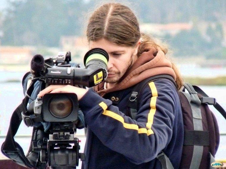 Imatges recurs d'un operador de càmera