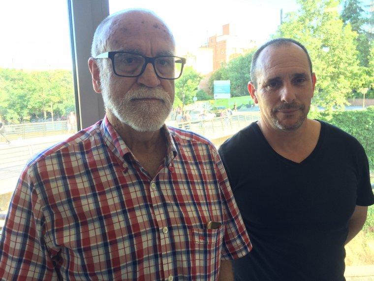 Joan López i Enrique Rodríguez de CCOO Vallès Occidental-Catalunya Central