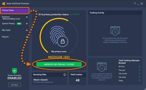 Avast AntiTrack Premium 2021 Crack + Serial Keygen Free [Lifetime]