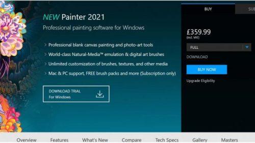 Corel Painter 2021 21.0.0.211 Crack + Serial Key Portable