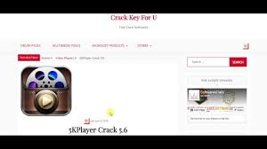 5KPlayer Crack 5.6 with Keyen Free Download