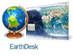 EarthDesk 7.3.1 Crack MAC Full Product Key.