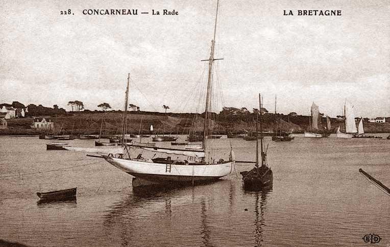 Femeie de cercetare pe Bretania