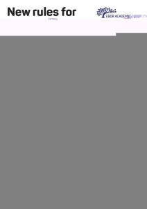 New rules for drop off and pick-up