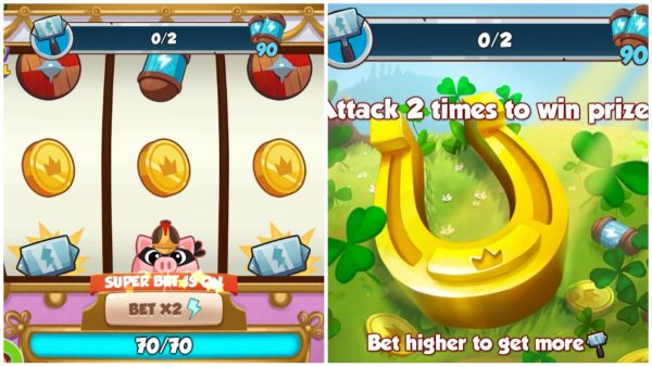 Coin Master Attack Madness Mighty Horseshoe