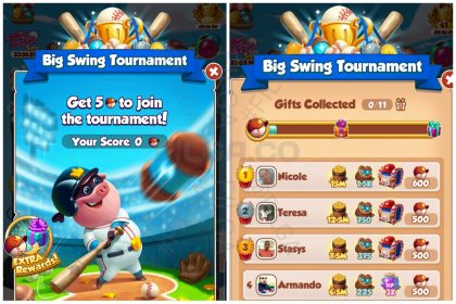 Big Swing Tournament, Coin Master, FILGA