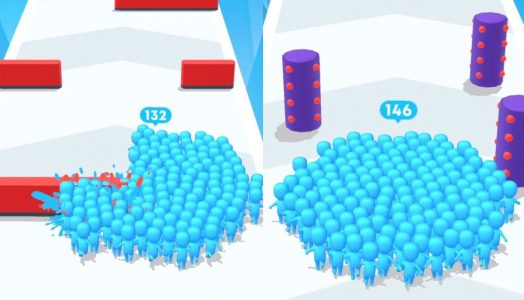 Different Obstacles in Count Masters Game