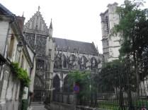 Elewacja północna katedry św. Piotra i Pawła