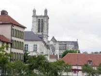 Katedra - widok z centrum miasta