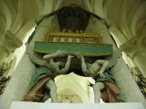 PONTIGNY: relikwiarz św. Edmunda z Canterbury / St. Edmund's reliquiary