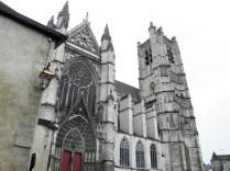 Elewacja północna katedry