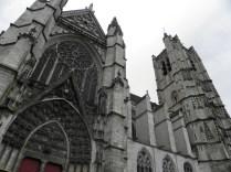 Zwieńczenie pn. transeptu