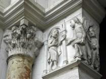VEZELAY: ANIOŁY FASADY ZACH. / ANGELS OF WEST FACADE