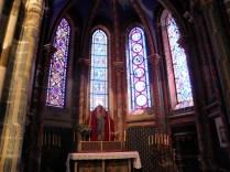 SEMUR-EN-AUXOIS: kaplica Notre-Dame / Notre-Dame chapel
