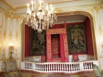CHAMBORD: królewskie łoże / royal bedroom