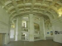 CHAMBORD: sławetna klatka schodowa / famous staircase