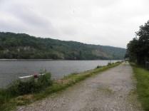 JUMIEGES: Sekwana w rejonie wsi / Seine river near the village