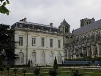 Ogrody przy katedrze w Bourges