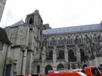 Elewacja południowa katedr