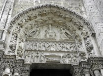 CHARTRES: PORTAL PRAWY ZACH. - TAJEMNICE RADOSNE / SOUTH WEST PORTAL - NATIVITY CYCLE