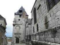 CHARTRES: WIEŻA KOŚCIOŁA ST. AIGNAN / TOWER OF ST. AIGNAN