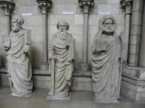 ROUEN: ŚW. MATEUSZ, MACIEJ I TOMASZ / ST. MATTHEW, MATTHIAS AND THOMAS