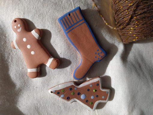 Adornos de Navidad de Cerámica