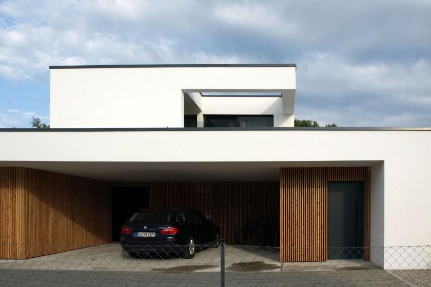 Einfamilienhaus Burghausen Dachausschnitt