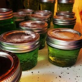 Mint jelly? It works.
