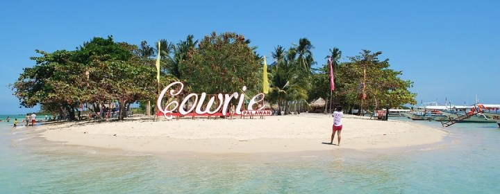Cowrie Island - Honda Bay, Puerto Princesa, Palawan, Filipijnen
