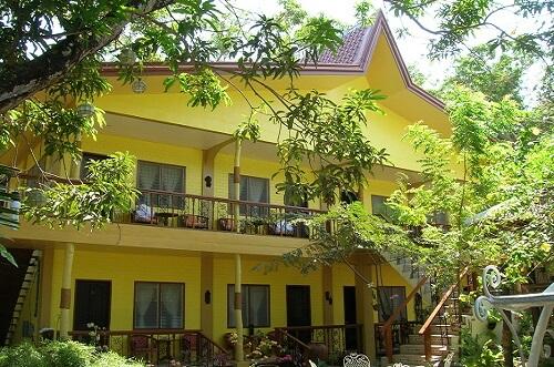 Gebouw Deluxe Rooms Hotel B01 - Coron, Palawan, Filipijnen