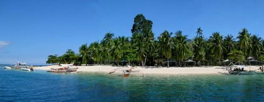 Pandan Island - Honda Bay, Puerto Princesa, Palawan, Filipijnen